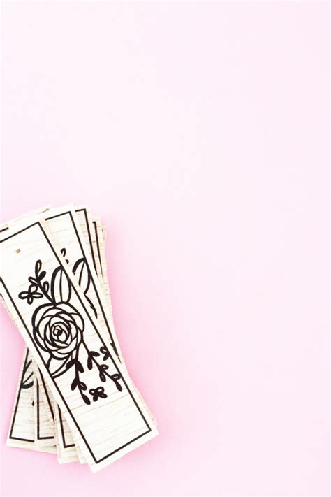 tattoo paper for wood diy floral wood tagsmaritza lisa