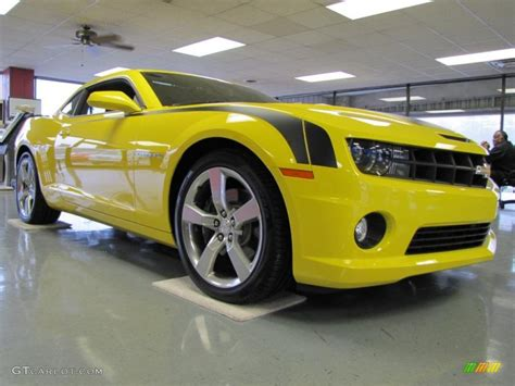 Must Colours For Ss 2011 by 2011 Rally Yellow Chevrolet Camaro Ss Rs Coupe 47292168