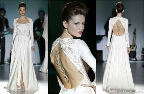 ver imagenes de vestidos de novia con manga tendencias 2014 vestidos de novia con manga larga