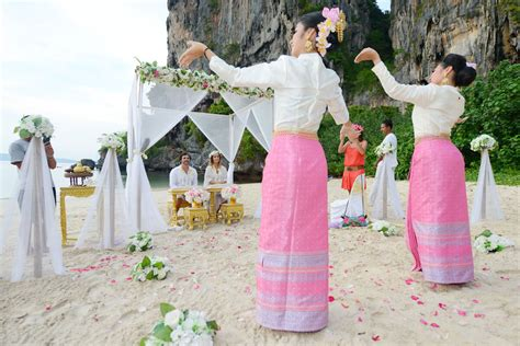 thailand wedding traditions thai style wedding ceremony packages krabi thailand