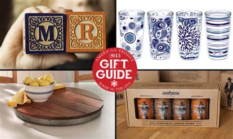 made in the usa 2013 holiday gift guides american profile