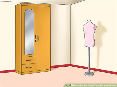 steps to redoing a bedroom 3 ways to redo a small teen bedroom girls wikihow