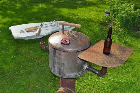 Handmade Barbecue Grills - rocket grill 9 steps with pictures