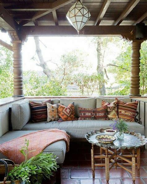 bohemian porch ideas  pinterest outdoor dining magical room  outdoor cafe
