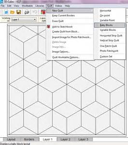 Baby Block Template by Tumbling Blocks Template Baby Blocks Quilt Pattern Free