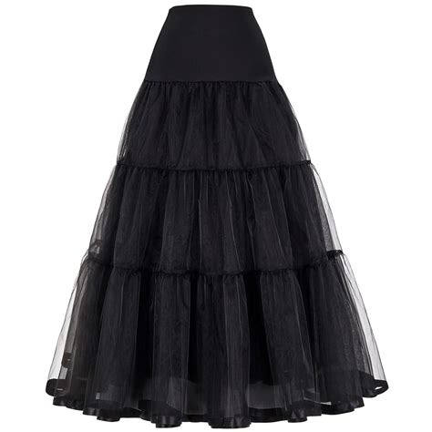 aliexpress com buy tulle skirts womens pleated long