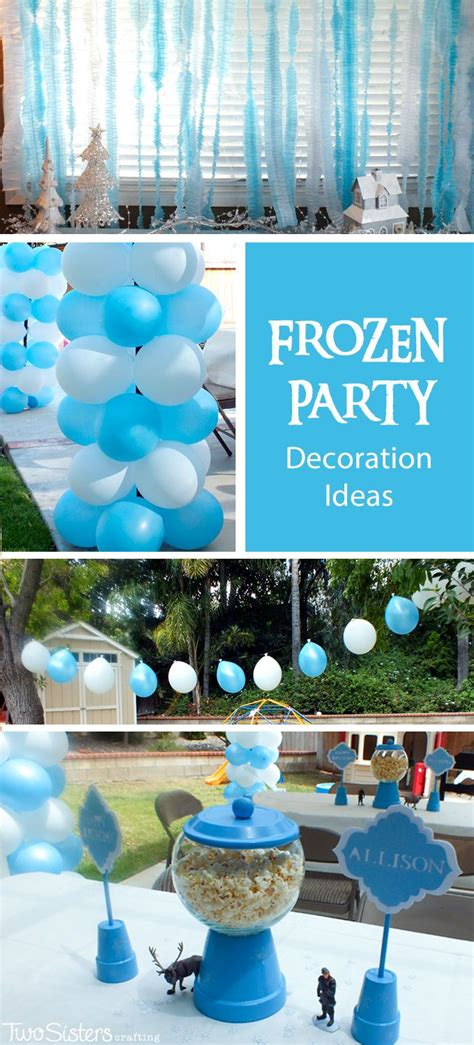 frozen birthday theme decorations disney frozen decoration ideas disney frozen and