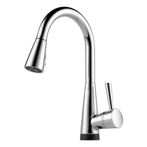 brizo kitchen faucet faucet 64070lf pc in chrome by brizo