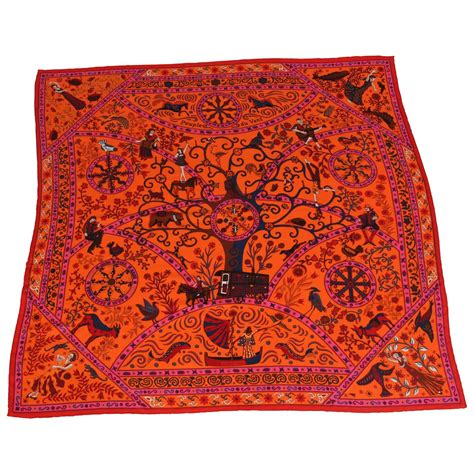 large hermes silk and scarf for sale at 1stdibs