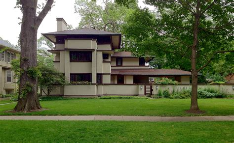 home design frank lloyd wright prairie style modern suburb area with homes elegant