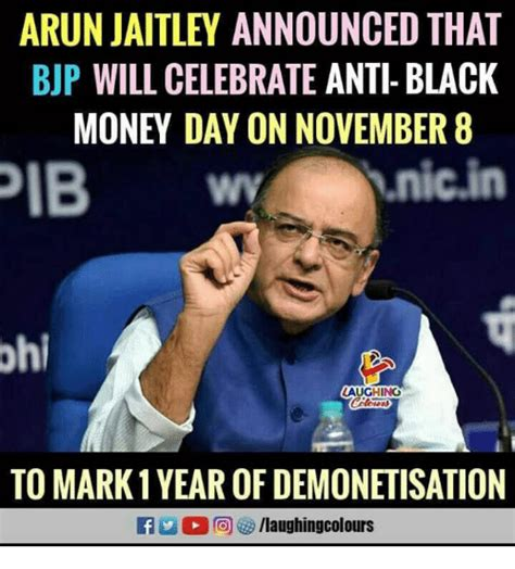 Thanksgiving Is Tomorrow To Celebrate I Will Be by Arun Jaitley Announced That Bjp Will Celebrate Anti Black