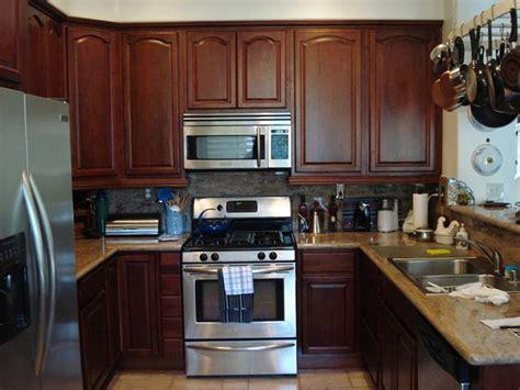 kitchen cabinets walnut cherry walnut kitchen cabinets home design traditional
