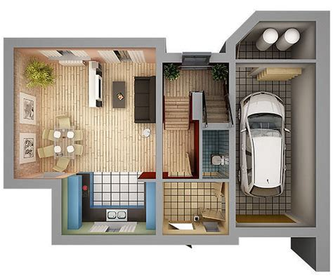 how to plan interior design of a house 3d model home interior floor plan 01 cgtrader