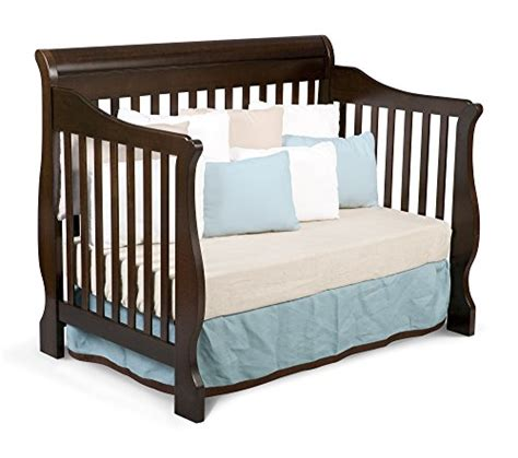 delta children canton 4 in 1 convertible crib espresso