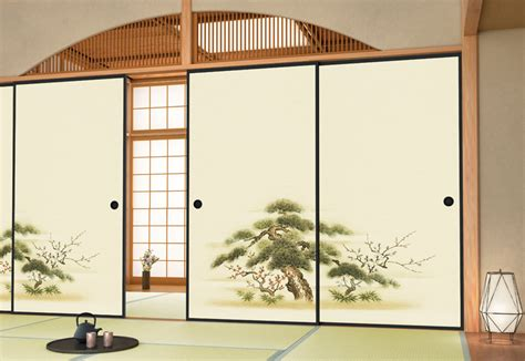 Traditional Japanese Floor Plan Fusuma Sliding Doors That Are A Work Of Art And A Way Of