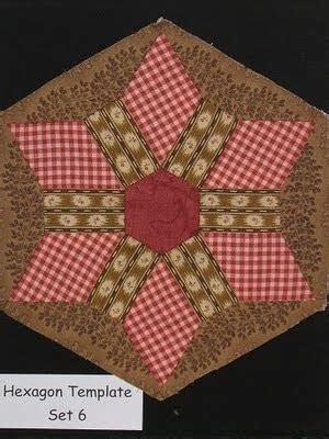 Patchwork Hexagon Template - the blanket box new patchwork template hexagon template 6