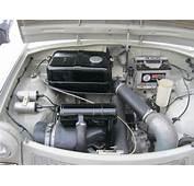Right Hand Drive Trabant 601 Engine Bay  PetrolBlog