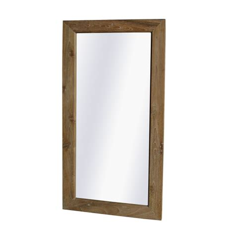 spiegel meubels teak spiegel 75x150 ajc meubelen