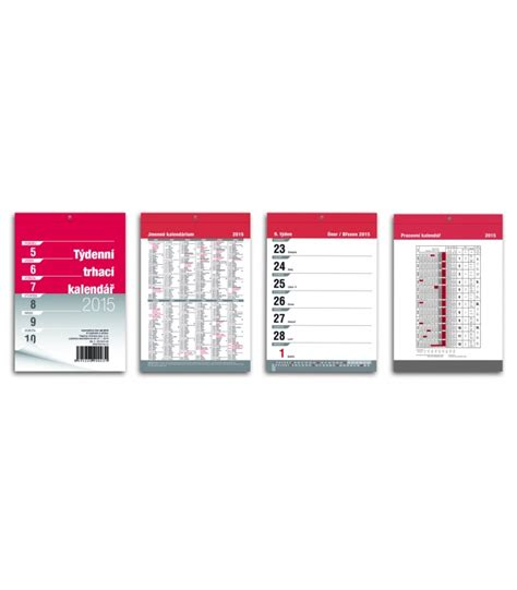calendar notepad design wall calendar notepad a6 trhac 237 week 2015