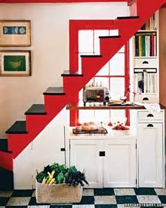 Stairs In The Kitchen by Country Kitchen Martha Stewart Katy Elliott