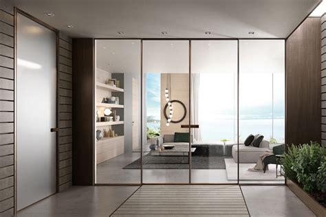 porte interne in vetro porte in vetro la porta giusta per far trasparire la