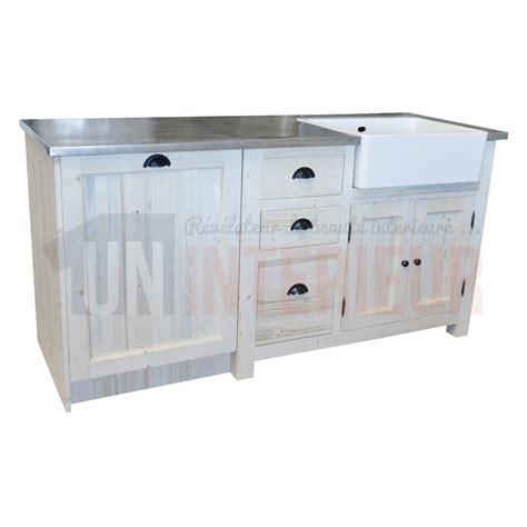 meuble 233 vier et lave vaisselle de cuisine 180cm