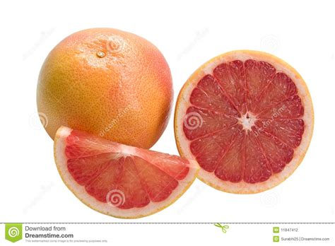 grapefruit sections grapefruit and sections stock photography image 11847412