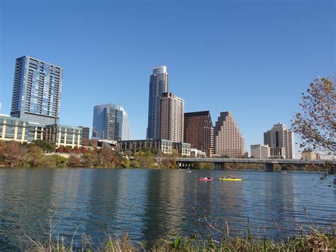 Design Your Own Home Online Easy by Canoes On Lady Bird Lake With Downtown Austin Skyline