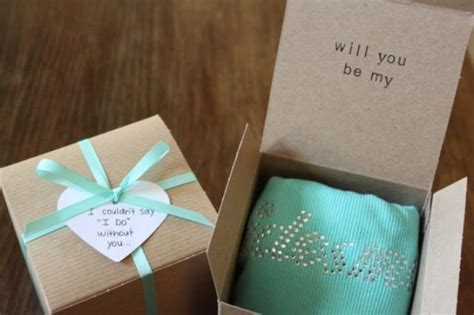 bridal shower gifts from of honour bridesmaid will you be my bridesmaid gift