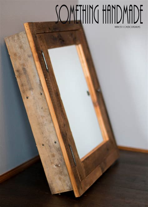 rustic wood medicine cabinet with mirror rustic recessed barn wood medicine cabinet with mirror made