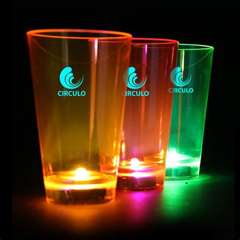 Lu Led Neon neon led tumbler cup bar supplies drinkware