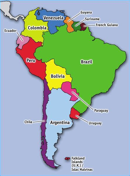 interactive map of south america physical features best 20 south america map ideas on