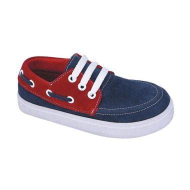 Sepatu Murah Anak Brandon Navy Branded 1 jual syaqinah 56 sepatu sneakers anak laki laki navy harga kualitas terjamin