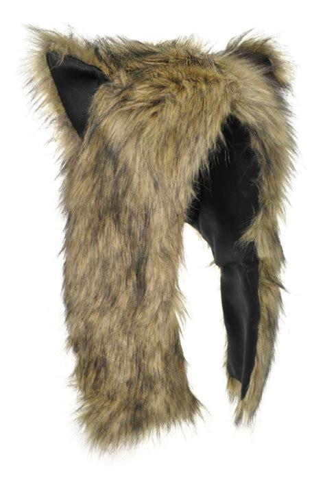 Animal Earcap uk seller winter hooded animal faux fur hat with ears gift hat ebay