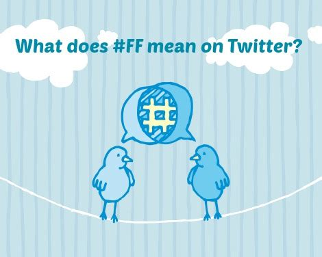 what does layout on twitter mean what does follow friday followfriday or ff mean on