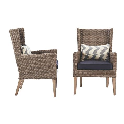 home decorators patio cushions home decorators collection naples grey wicker all weather