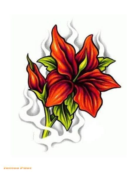 flower tattoo flash flower designs type tattoos