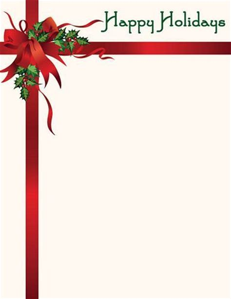 happy holidays template letterhead geographics happy holidays wholesale