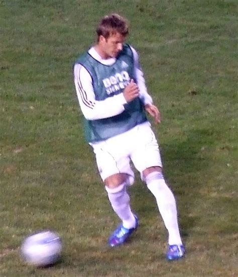 david beckham football player biography david beckham biography association football player