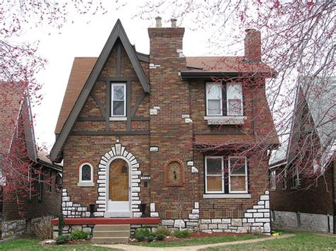 tudor revival dotage st louis tudor revival historic district