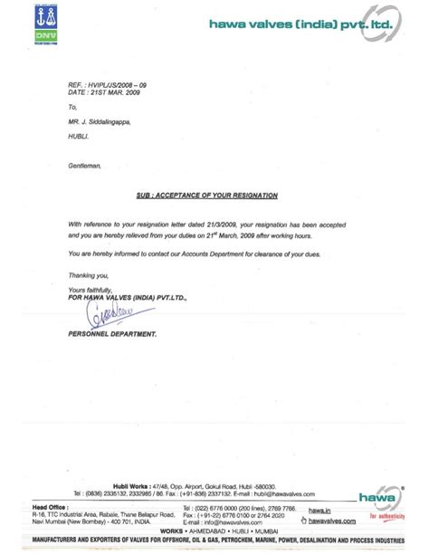Employment Clearance Letter Sle 2 Hawa Clearance Certificate