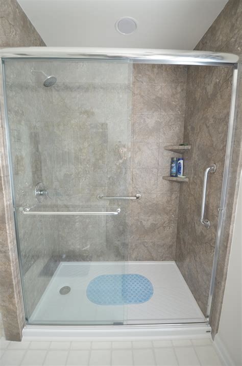 How Much Does A Tile Shower Cost by How Much Do Walk In Showers Cost Home Design