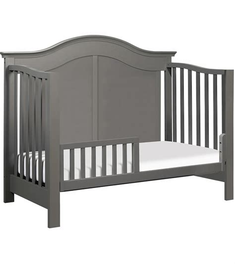 Slate Baby Crib by Davinci Meadow 4 In 1 Convertible Crib With Toddler Bed