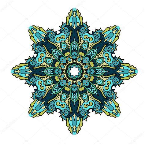 imagenes de mandalas verdes mandala en colores marinos archivo im 225 genes vectoriales