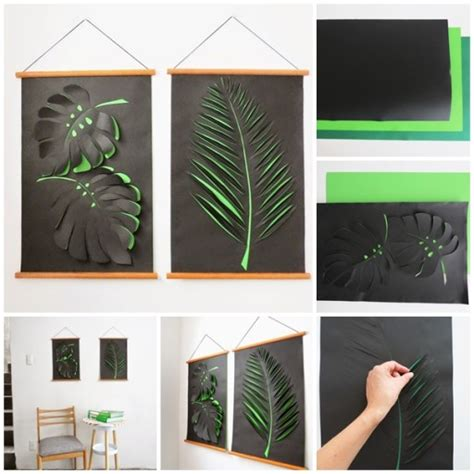 how to do wall painting designs yourself how to make diy paper wall art how to instructions