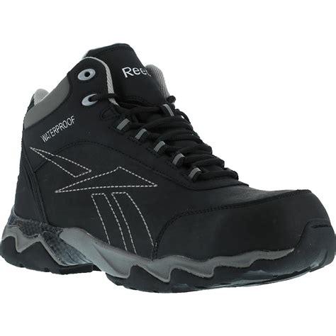 Reebok Beamer Safety Shoes black composite toe waterproof work hiker reebok beamer