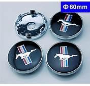 4pcs W199 60mm Car Emblem Badge Wheel Hub Caps Centre