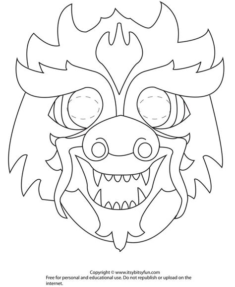 17 best images about coloring printable masks on pinterest