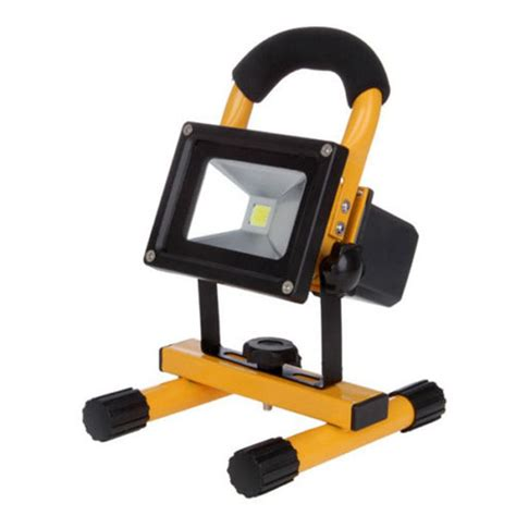 battery powered portable led work lights portable battery powered led work light outdoor 50w 30w