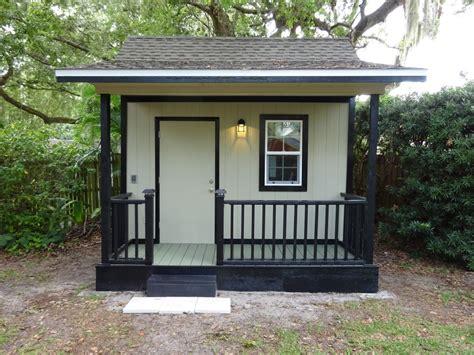 garden shed plan   porch built  florida